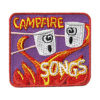 Campfire Songs Fun Patch
