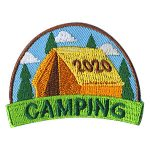 Scout Camping 2020 Patch