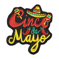 Cinco de Mayo Fun Patch
