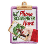 Phone Scavenger Hunt Fun Patch