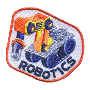 The Robotics Patch from MakingFriends®.com is for any scout that is working on a robotics project for fun or as part of a team. If your local high school or college has a Robotics Club, ask them about a visit with your troop or service unit. via @gsleader411