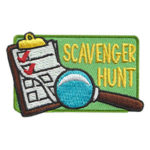 Scavenger Hunt Fun Patch