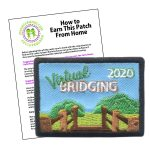 Girl Scout Virtual Bridging 2020 Patch