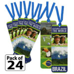 Brazil Thinking Day Bookmarks