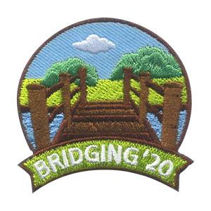 Girls Scout Brigding 2020 Fun Patch