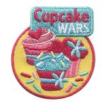Cupcake Wars Fun Patch