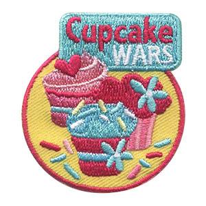 Girl Scout Cupcake Wars Fun Patch Program