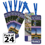 France Thinking Day Bookmarks