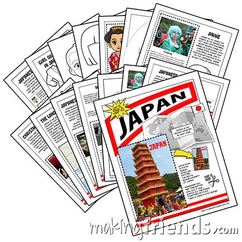 Girl Scout Thinking Day Japan via @gsleader411