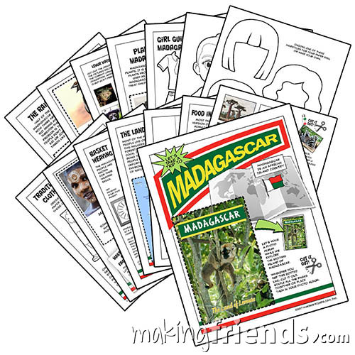 Girl Scout Thinking Day Madagascar via @gsleader411