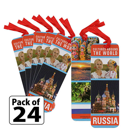 Russia Culture Bookmarks. Our bookmarks make great friendship swaps for Thinking Day*. Looking for more ideas for your booth celebrating Russia? You'll find patches, recipes, crafts and more on our page Russia | Ideas for Thinking Day*. via @gsleader411