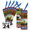 United Kingdom Thinking Day Bookmarks