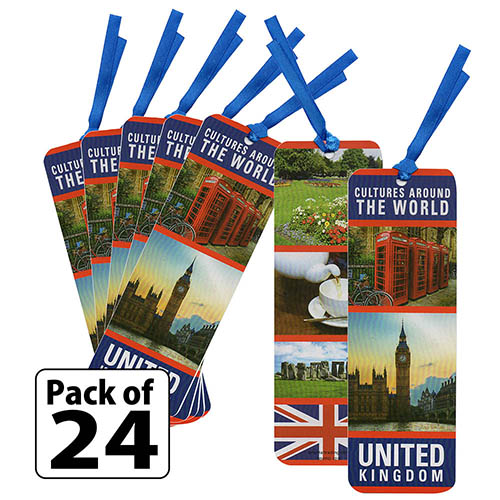 United Kingdom Culture Bookmarks. Learning about the United Kingdom? Our bookmarks are great for Thinking Day* or any international event. The United Kingdom includes 4 countries. Learn about them and find patches, crafts and free printables on our page United Kingdom | Ideas for Thinking Day*. via @gsleader411