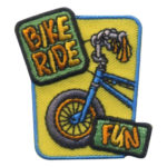 Girl Scout Bike Ride Fun Patch