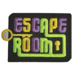 Girl Scout Escape Room Fun Patch