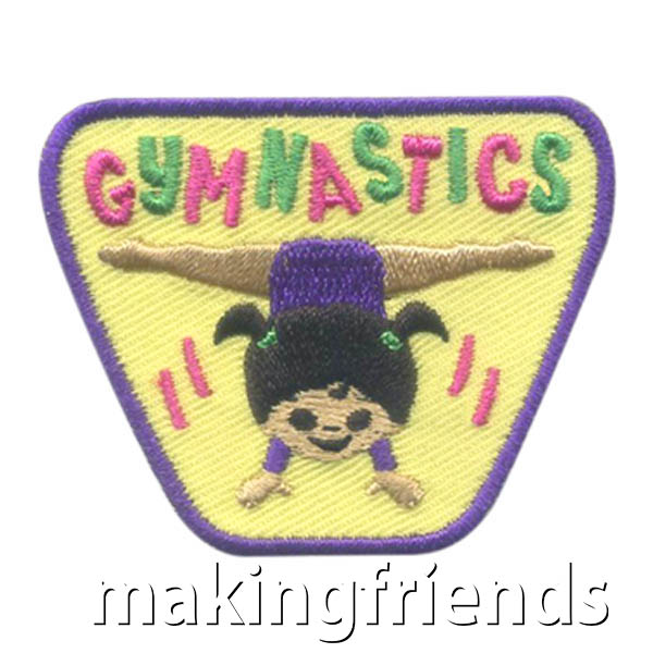 Girl Scout Gymnastics Fun Patch via @gsleader411