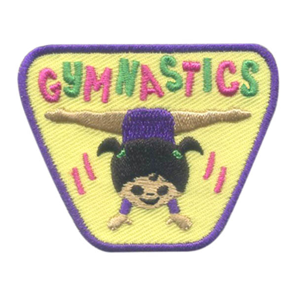 Girl Scout Gymnastics Fun Patch
