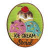 Girl Scout Ice Cream Social Fun Patch