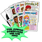 Girl Scout Junior Superhero Downloads