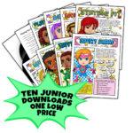 Girl Scout Junior Superhero Downloads