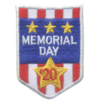Girl Scout Memorial Day 2020 Patch