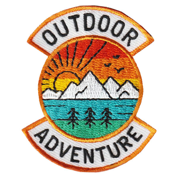 Girl Scout Outdoor Adventure Fun Patch