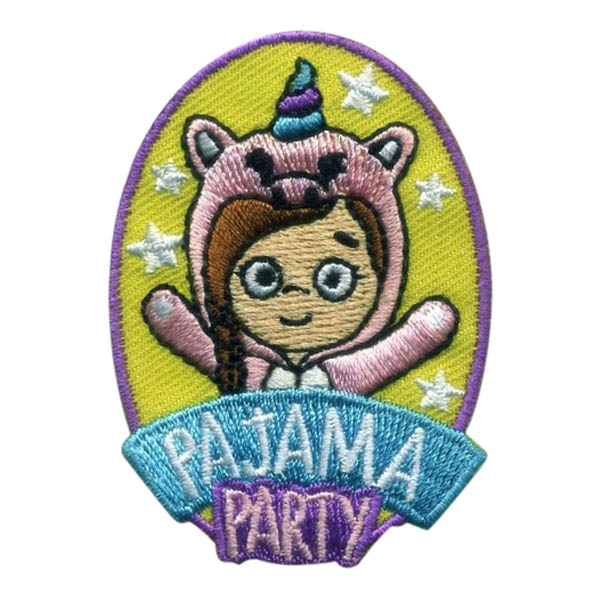 Girl Scout Pajama Party Fun Patch