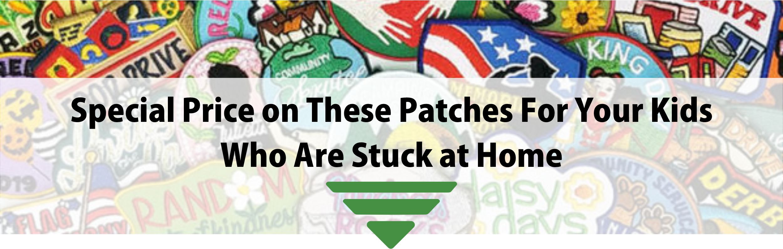 Girl Scout Patches Corona Virus
