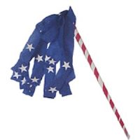 Girl Scout Patriotic Parade Stick Craft