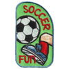 Girl Scout Soccer Fun Patch