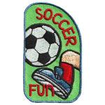 Girl Scout Soccer Fun Patch