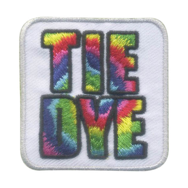 Girl Scout Tie Dye Fun Patch