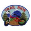 Girl Scout Trail Ride Fun Patch