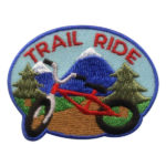 Girl Scout Trail Ride Fun Patch