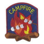 Girl Scout Campfire Fun Patch Marshmallows
