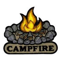 Girl Scout Campfire Patch
