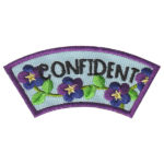 Girl Scout Confident Character Building Patch Program®