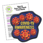 Girl Scout Covid 19 Awareness Fun Patch
