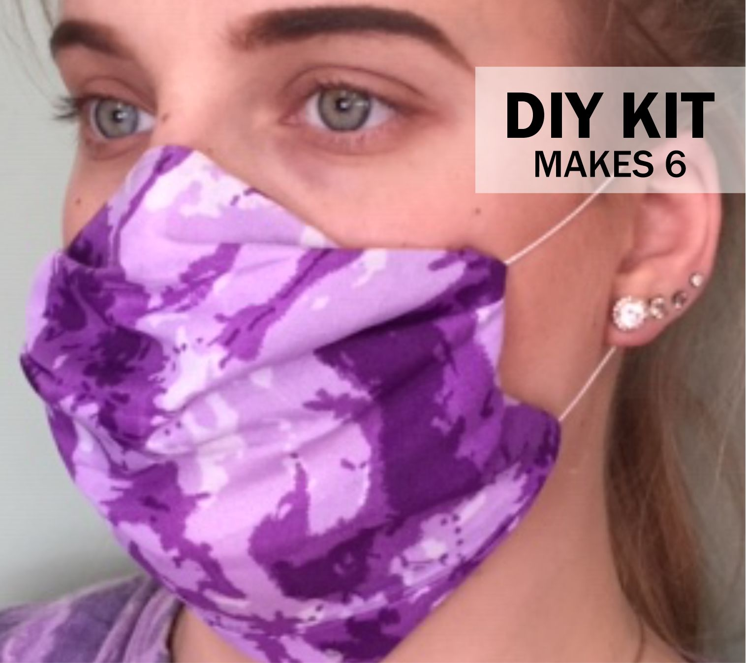 With this kit your girls can make face masks for their family and friends or front line workers. Or make it a money-earning project for your troop. Includes illustrated step-by-step instructions for the best DIY mask. No fabric scissors needed. Just fold, press and stitch. Stitching is seven straight lines so it's great for beginners. Or assemble using fabric glue or strips of BadgeBond for the same great results. Kit makes 6 adult or child sized and is available at MakingFriends®.com. via @gsleader411