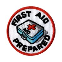 Girl Scout First Aid Prepared Patch