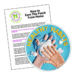 Girl Scout Healthy Habits Hand Washing Fun Patch