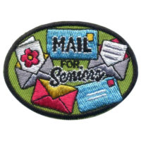 Girl Scout Mail for Seniors Patch