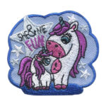 Girl Scout She & Me Fun Patch Unicorns