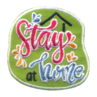 Girl Scout Stay at Home Fun Patch