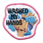 Girl Scout Washed My Hands Fun Patch