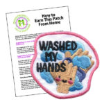 Girl Scout Washed My Hands Fun Patch Program