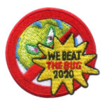 Girl Scout We Beat the Bug 2020 Fun Patch