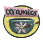 Girl Scout Ceramics Fun Patch