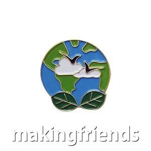 "The Clean Earth Delegate Pin is from the Youth Squad Environmental Patch Program®. MakingFriends®.com partnered with Youth Squad to bring you a rewarding community service program with step-by-step instructions for every age level to make a meaningful impact in their community. This is one of our ""Delegate"" level pins. The requirements for our Delegate level provide teens with valuable life experience and a completed project to include on a resume or college application. via @gsleader411"