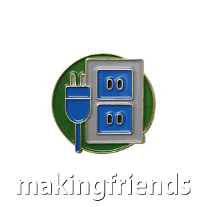 """The Conservation Delegate Pin is from the Youth Squad Environmental Patch Program®. MakingFriends®.com partnered with Youth Squad to bring you a rewarding community service program with step-by-step instructions for every age level to make a meaningful impact in their community. This is one of our """"Delegate"""" level pins. The requirements for our Delegate level provide teens with valuable life experience and a completed project to include on a resume or college application. via @gsleader411"""